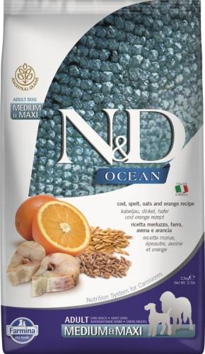 N&D Ocean Dog Codfish, Spelt, Oats and Orange Medium & Maxi